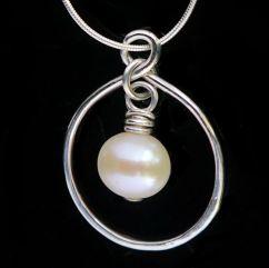 Infinity pendant - Polly £39