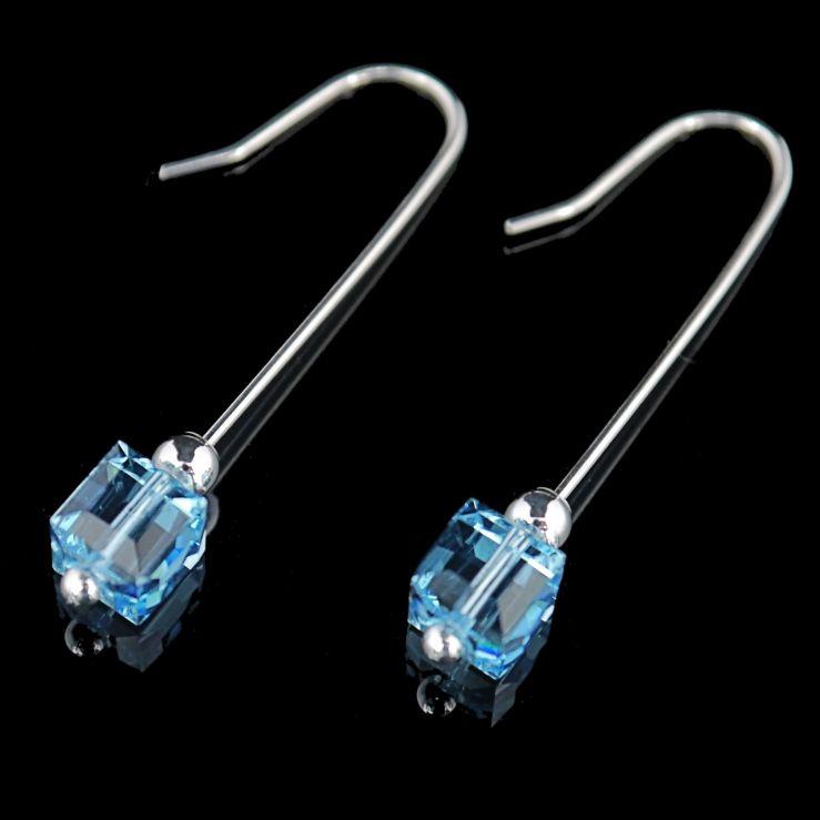 Aquamarine Swarovski Crystals 02