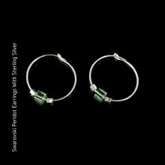 swarovski Peridot Earrings blog