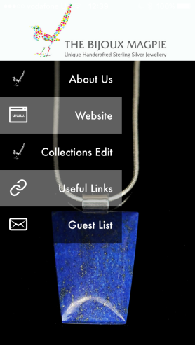 The Bijoux Magpie App