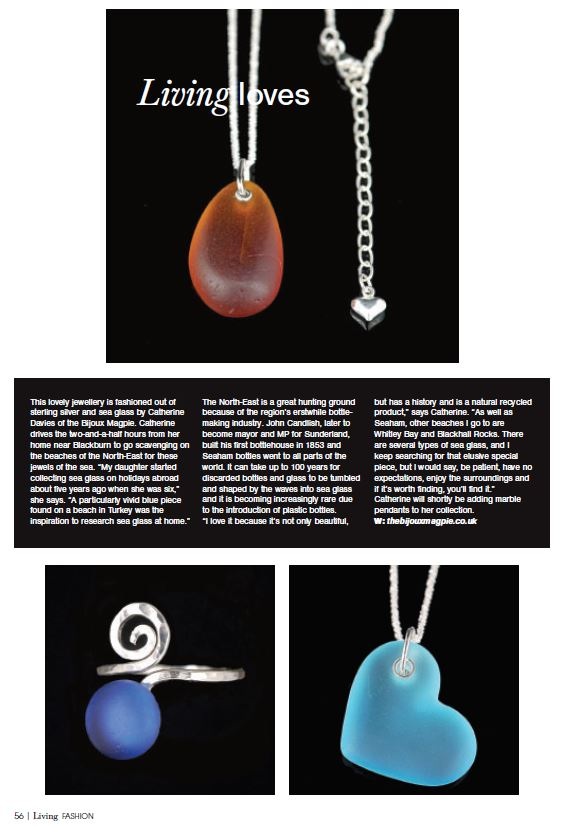 Jewellery Sea Glass Living Magazine