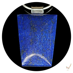 lapis lazuli, lapis lazuli cabochon, lapis lazuli necklace, handcrafted jewellery, necklace, cabochon necklace