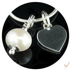 freshwater pearl, personalised jewellery, necklace, personalised necklace, children's jewellery, girls jewellery, pearl jewellery, jewelry, charm necklace